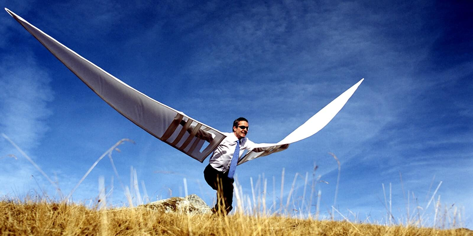 китайцев узкие картинка с летящим человечком является одним самых